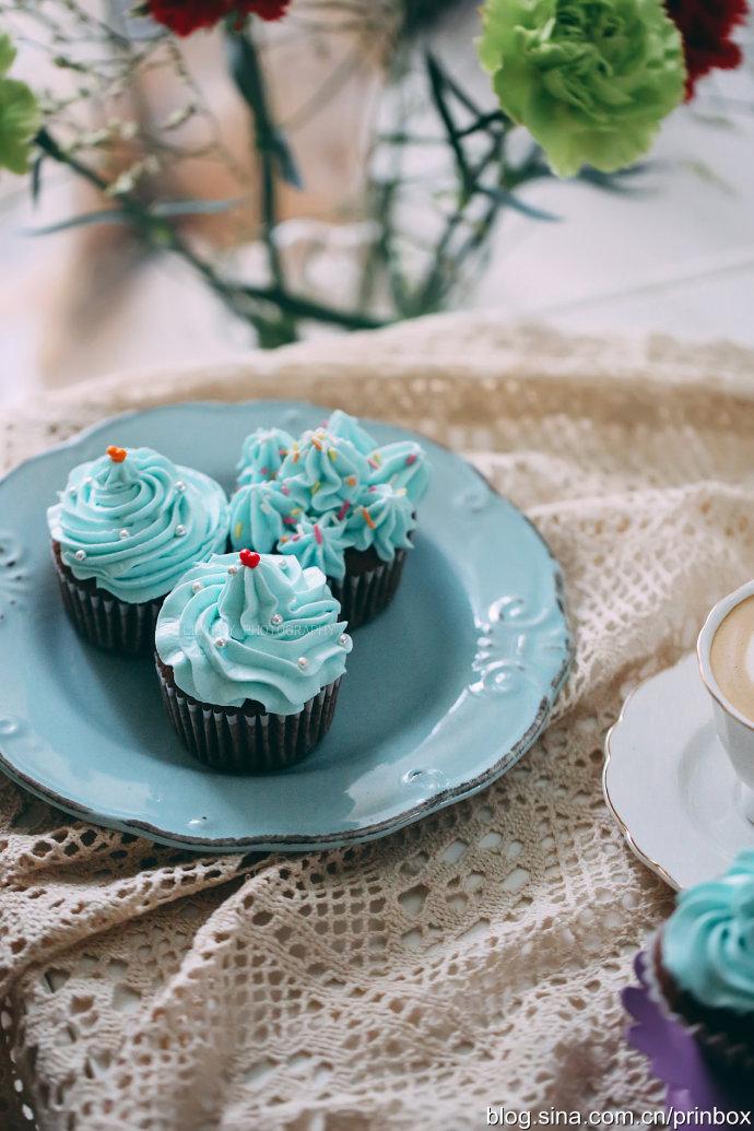 【早餐°】2019-3-5:奶油Cupcake(杯蛋糕)/卡布奇诺