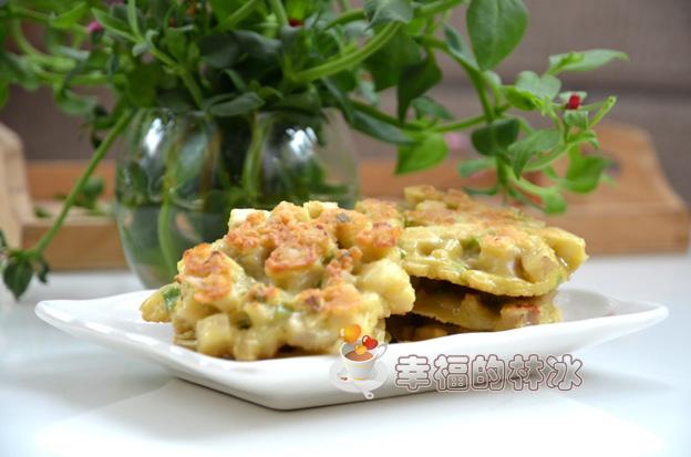 鲜嫩可口的脆藕饼