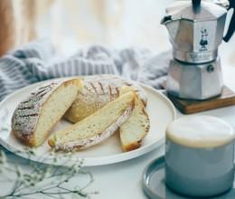 【早餐°】2019-3-20:法棍圆面包/卡布奇诺