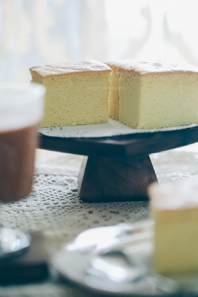 香草古早味蛋糕