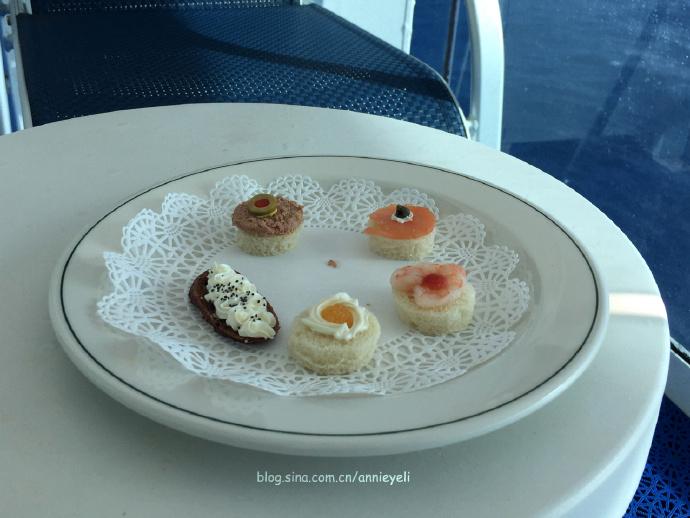 【皇冠公主号】直送舱房的下午茶
