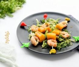 水果和海虾的完美搭配:芒果虾串