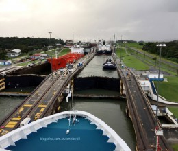 【巴拿马运河】卡登闸,观光火车