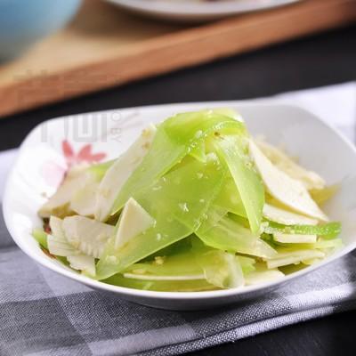 碧玉笋尖:轻盈小凉菜,满眼都是春色!