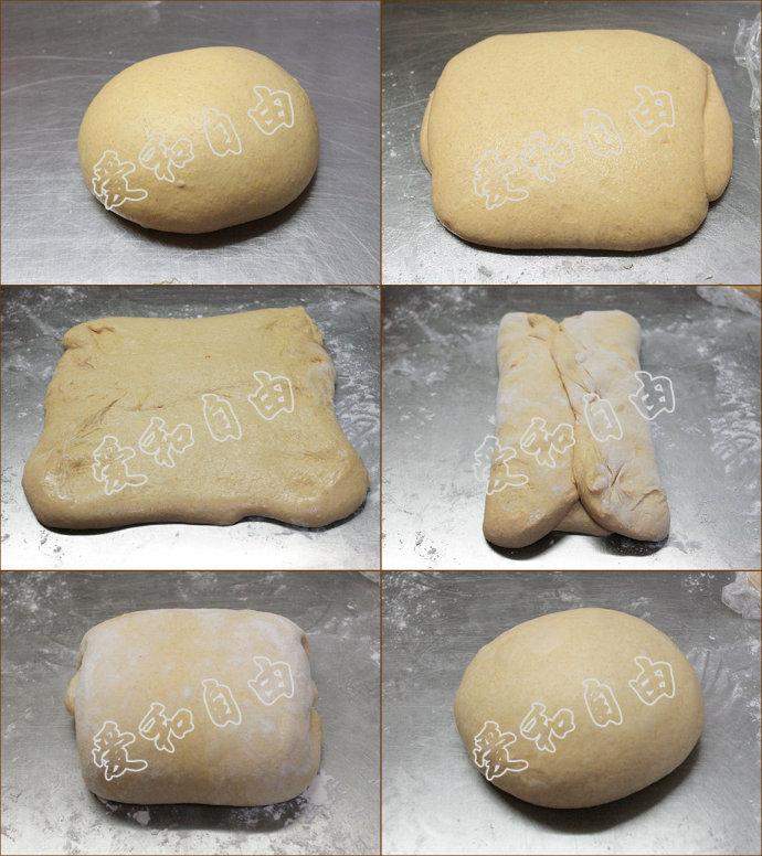 南瓜乡村面包