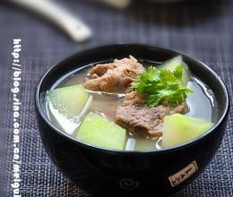 你若安好——————考生能量餐之五:冬瓜排骨汤和冬瓜排骨汤面