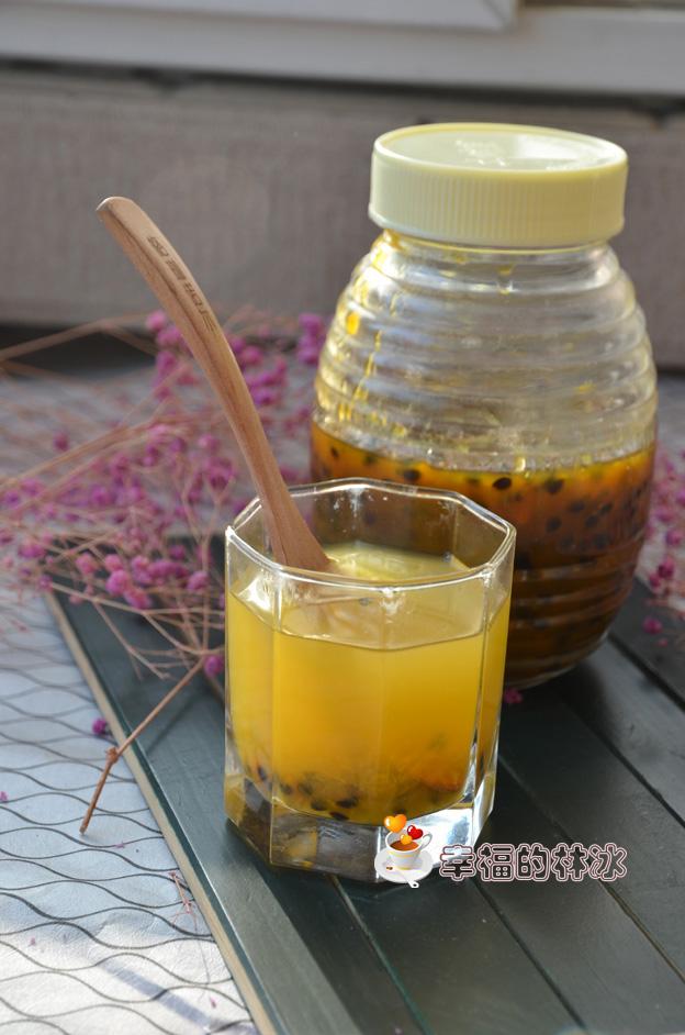 就愛這一口酸爽的味道-百香果醬蜂蜜水