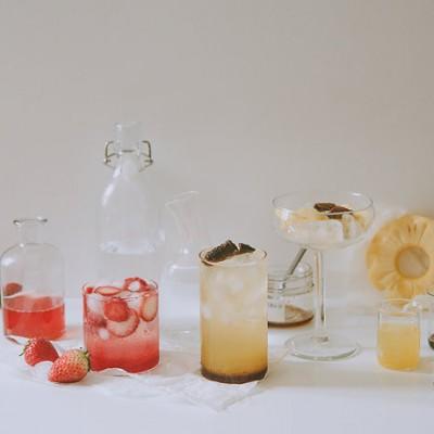 基础风味|陈皮菠萝特饮/草莓浸酒