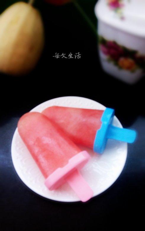 冰凉又甜蜜——【西瓜冰棍】