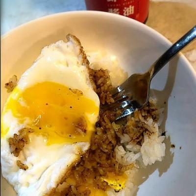 虾籽酱油拌饭