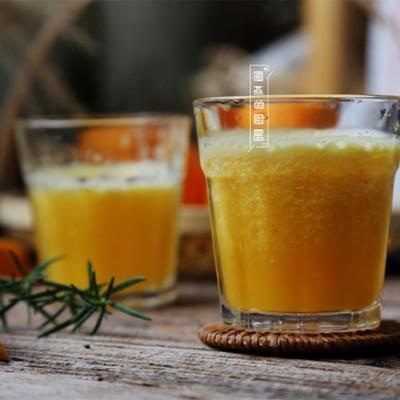 早晨必喝的健康饮品,美白抗衰老之【精纯橙汁】