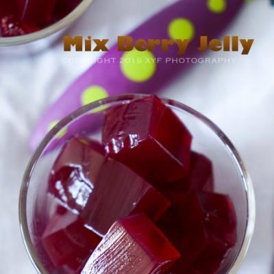 只需3中食材教你制作夏季美味无添加的水果果冻