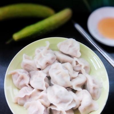 头伏的饺子——【黄瓜猪肉水饺】