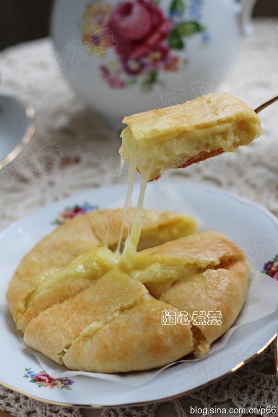 【榴莲芝士饼】榴莲和芝士的完美结合