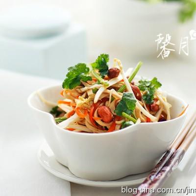 【腐皮菜心】——夏季真爱大拌菜
