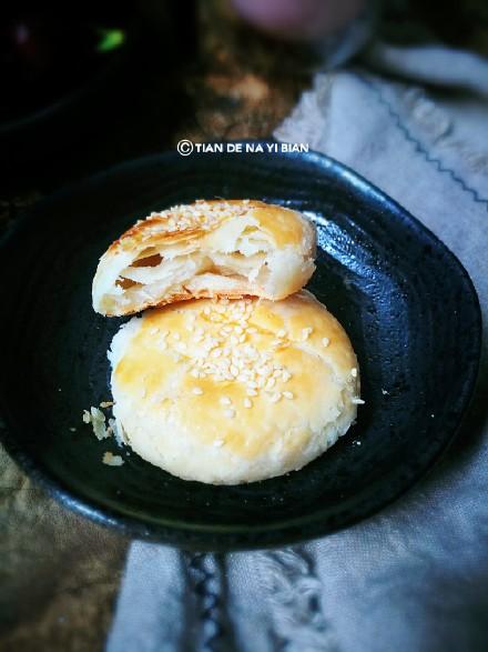酥松香甜的掉渣老婆饼