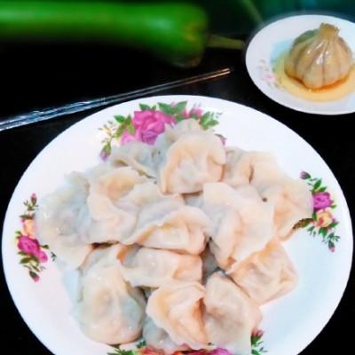 皮薄馅大——【胡瓜猪肉水饺】
