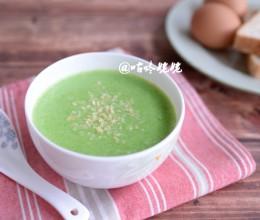 【西兰花土豆浓汤】:浓香可口营养健康