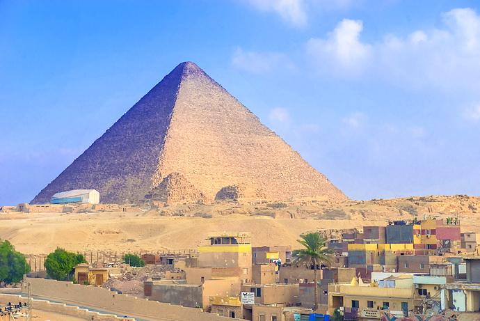 """【埃及】千古之谜金字塔,我吻了你,还钻进了你的""""肚子""""里"""