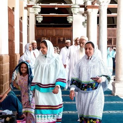【埃及】开罗·艾资哈尔清真寺,我们被穆斯林团团围住