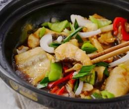 【砂锅焗鲢鱼块】暖胃补气还益智,秋季食补不如多吃点