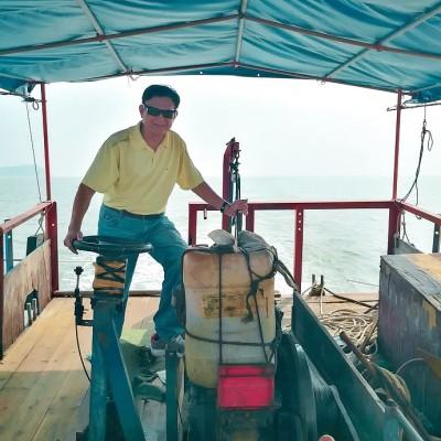 【福建】国庆假期不去人海扎堆,我驾船出海去捕鱼