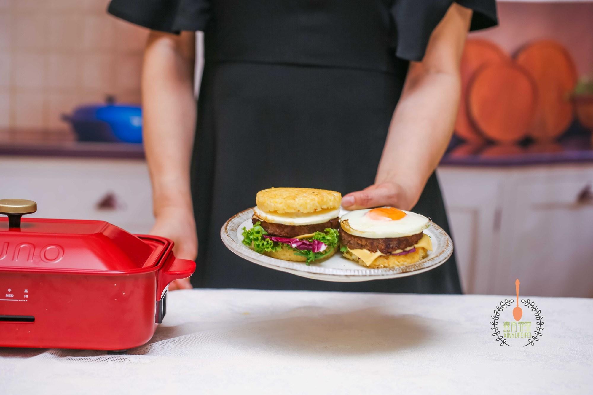 米漢堡比炒飯香,比漢堡受歡迎,10分鐘早餐,孩子隔三差五點要名吃