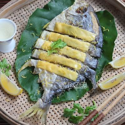 【芝士焗金鯧魚】酥香別有風味!