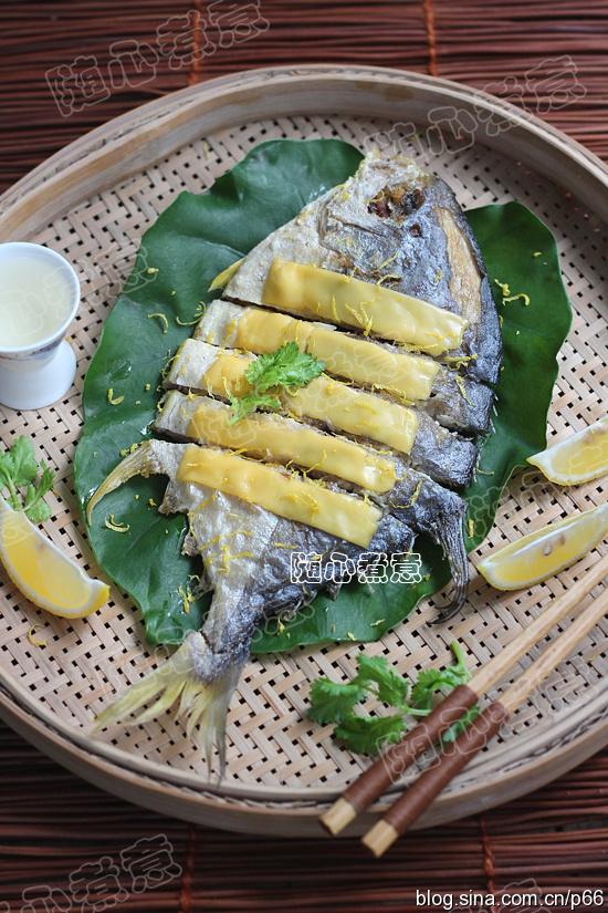 【芝士焗金鲳鱼】酥香别有风味!