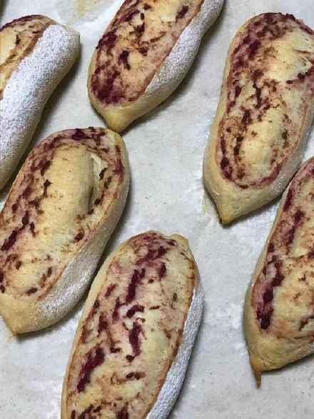 【红树莓奶油】&【红树莓全麦小法棍】
