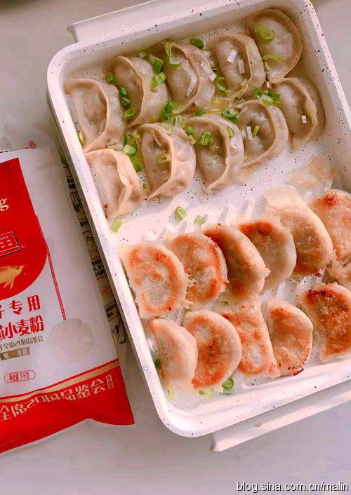 一口就爱上的韭黄牛肉生煎饺