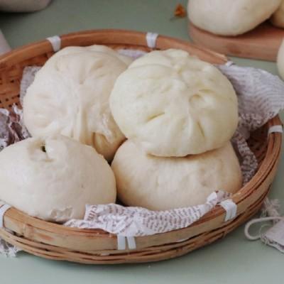 【香菇青菜包子】冬天不用发面,现吃现包的窍门在哪里