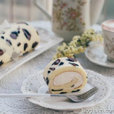 【早餐°】2019-11-26:豹紋奶油瑞士蛋糕卷/卡布奇諾