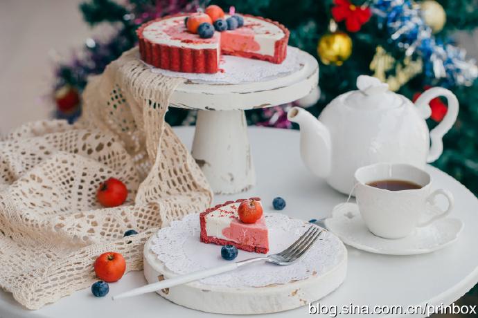 【早餐°】2019-12-6:圣诞红丝绒山楂慕斯塔/伯爵红茶