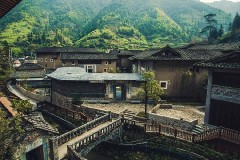 和父母的闽南漫旅行之漳州篇,栖身百年土楼中