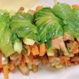 生菜雞胸肉卷