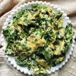 低脂家常菜—韭菜炒蛋食譜來了!韭菜的高纖維可幫助腸胃蠕動、預防便秘!