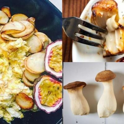 杏鮑菇雙椒炒蛋食譜