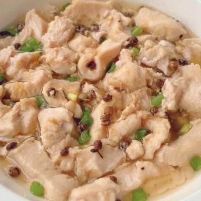 椒鹽蒸雞胸肉