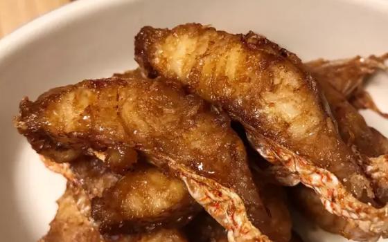 中秋美食-熏鱼