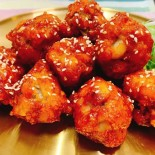 韓式辣醬脆皮炸雞