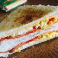 三明治吐丝