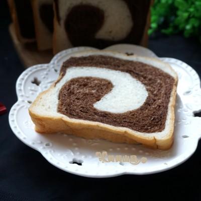面包机双色可可吐司