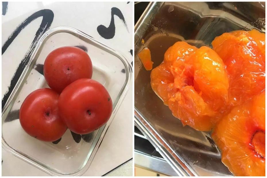 面包机柿子果酱