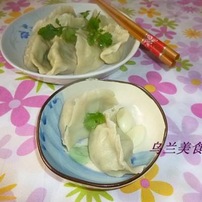 羊肉香菜馅饺子