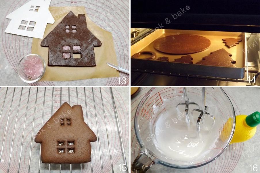 圣诞姜饼屋烛台