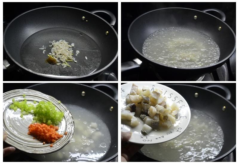 翡翠鳕鱼羹--闽菜