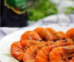 香辣油爆海虾