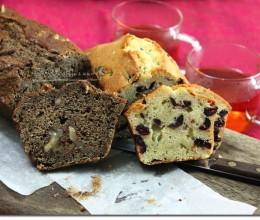 双味磅蛋糕配寿眉雪菊茶的待客茶点