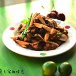 菌菇炒牛柳